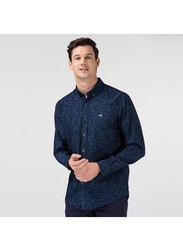 Lacoste Erkek Slim Fit Gömlek CH0156.56L Lacivert